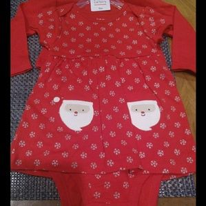 Super cute girls outfit Christmas 9 months new